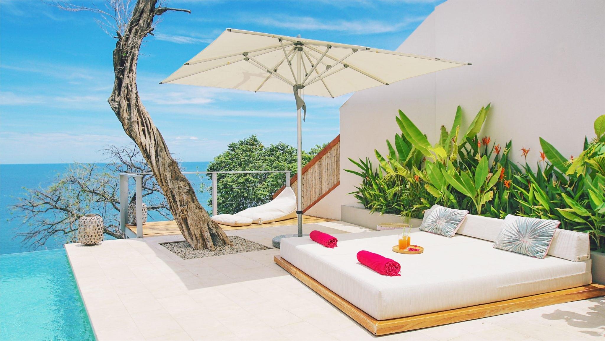 Villa Fugata Pool Terrace