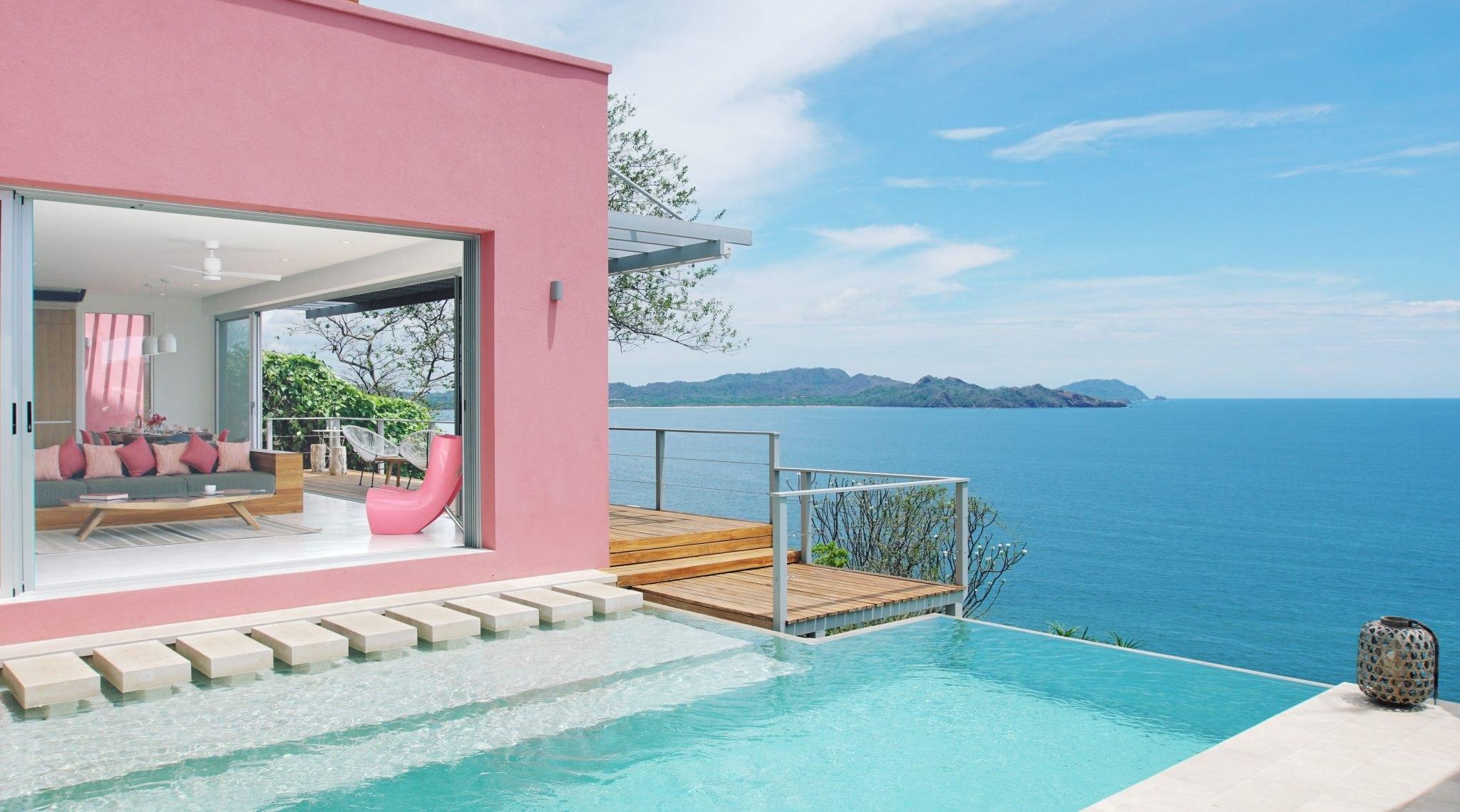 Villa Fugata Infinity Edge Swimming Pool