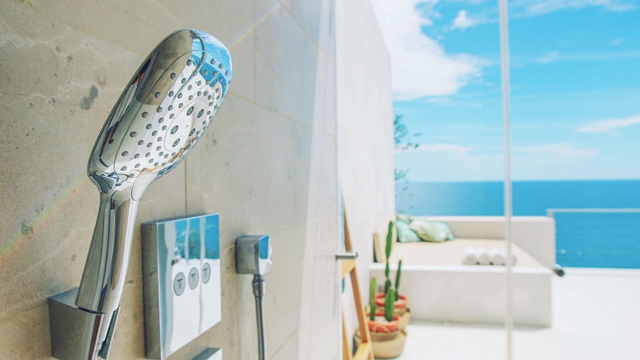 Villa Fugata Master Bathroom